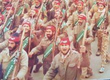 رژه با تبر در گرگان / شهیدی که تاکید داشت نمازش را آیت الله طاهری بخواند